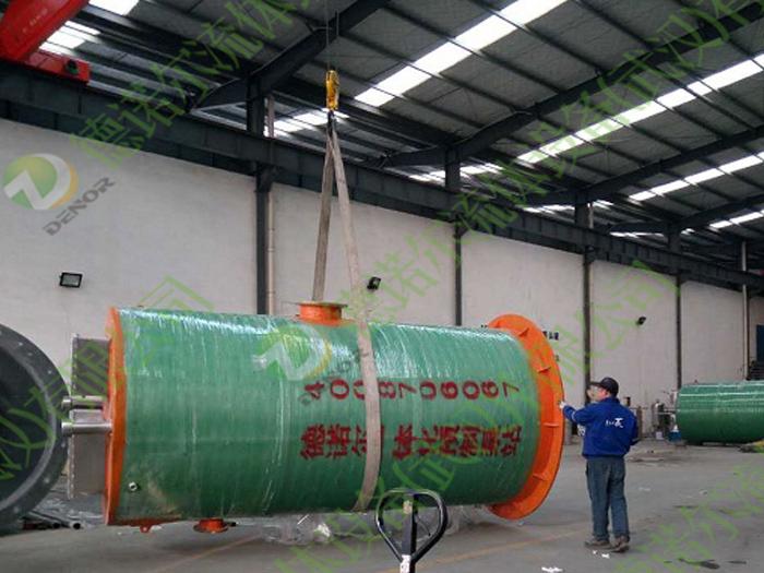 德诺尔-江西一体化污水提升泵站项目