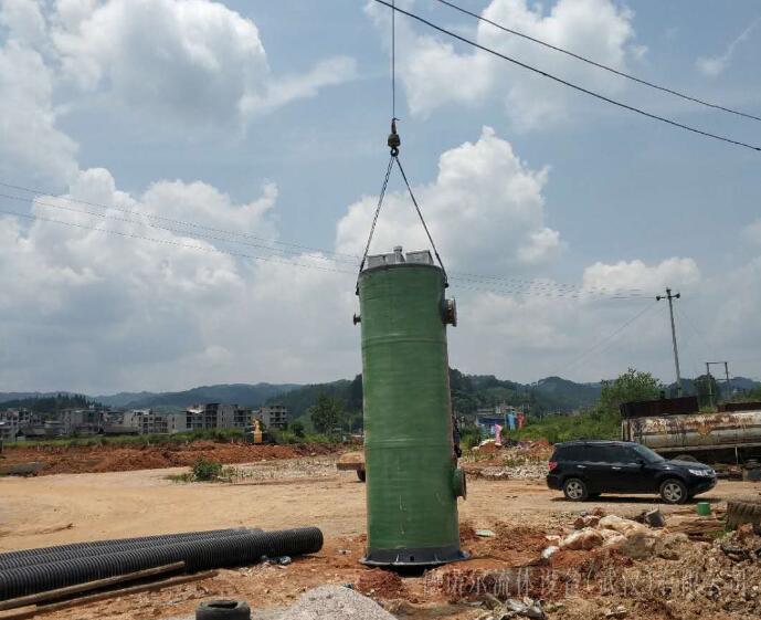 一体化公路排水预制泵站