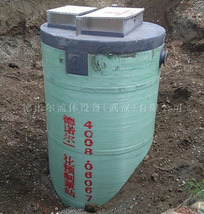 陕西雨水收集一体化泵站安装视频案例