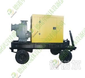 拖车移动自吸泵站