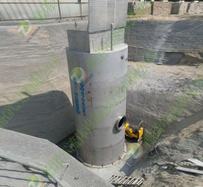 市政排涝一体化预制泵站