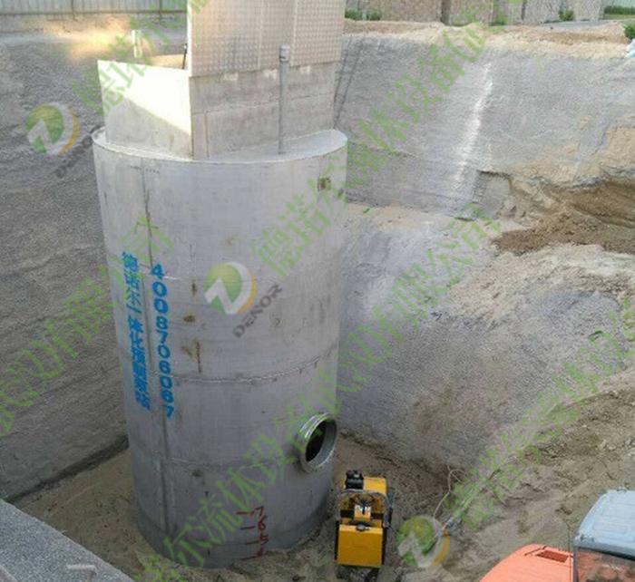 一体式污水提升泵站