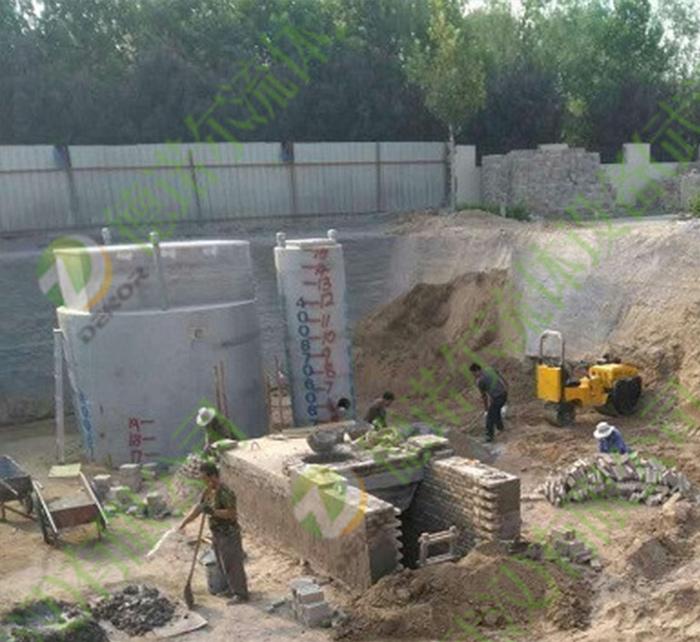 一体化建筑排水预制泵站