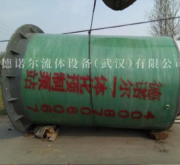 一体化玻璃钢泵站