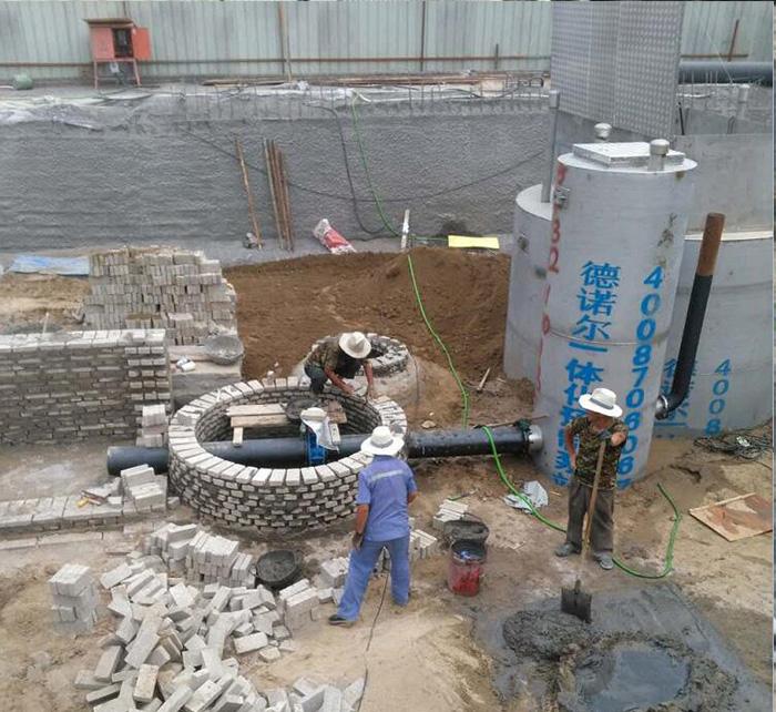钢制一体化预制泵站
