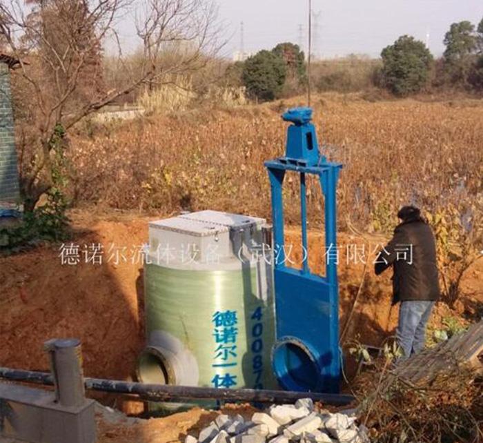 一体化雨污水提升预制泵站
