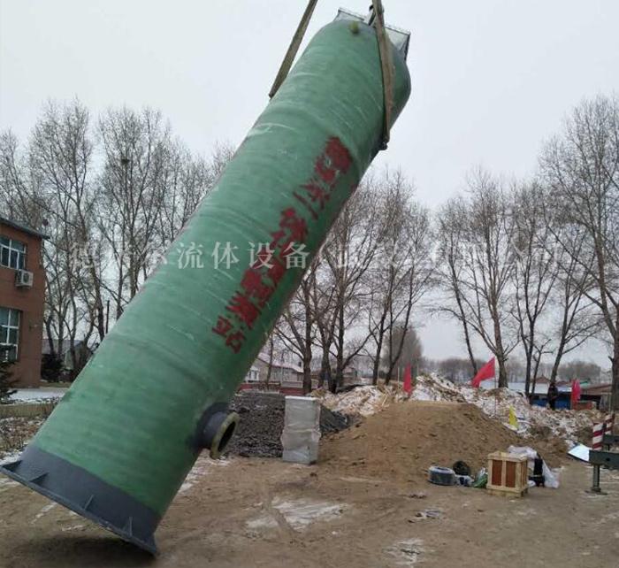 一体化城镇雨水提升预制泵站