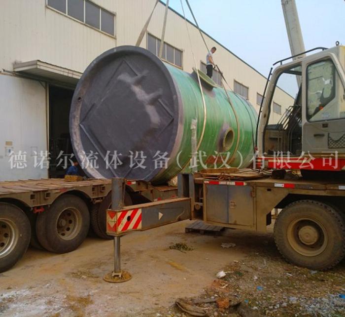 工业废水处理提升泵站