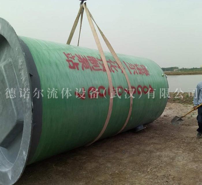 市政污水一体化提升泵站