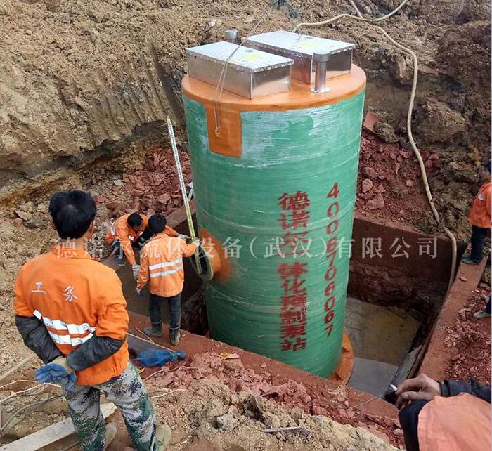 景区污水一体化提升泵站