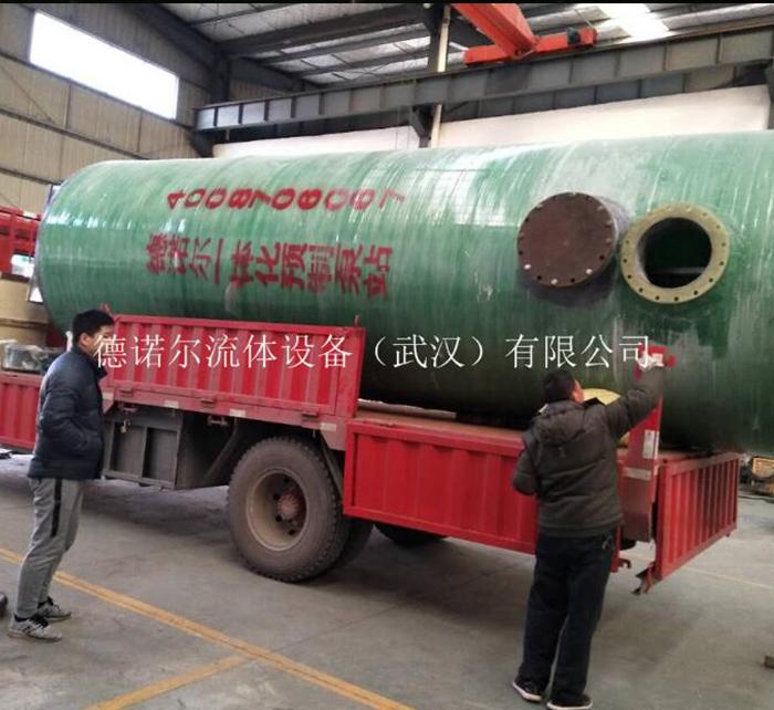 工业污水一体化提升泵站