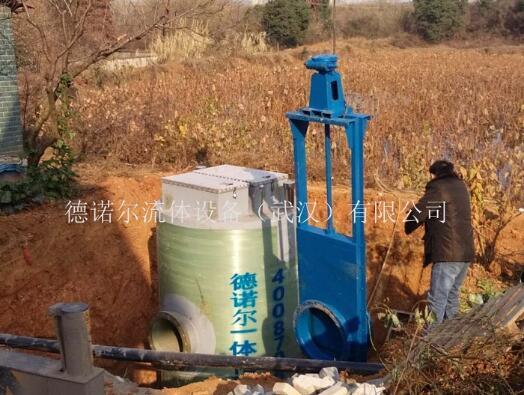 道路雨水一体化防汛泵站