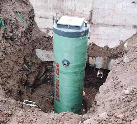 景区污水一体化预制泵站