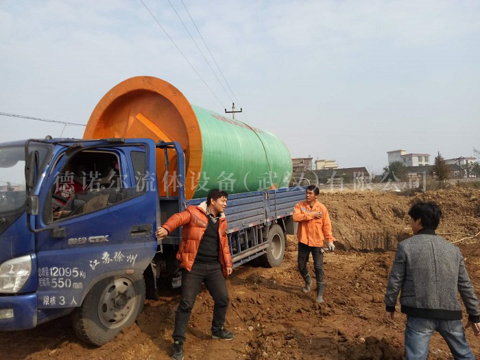 农业防洪一体化排水泵站