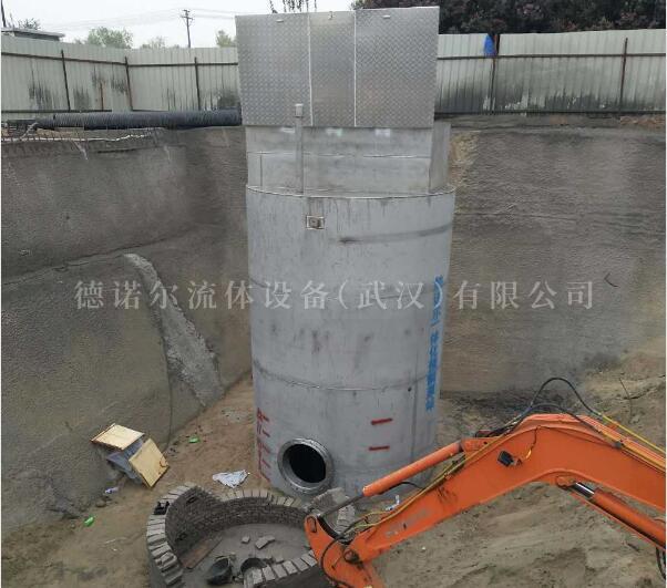 不锈钢一体化防汛泵站