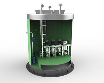生活给水一体化泵站