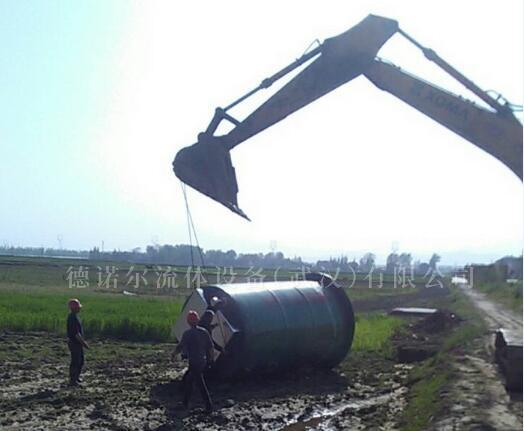 屠宰场污水一体化提升泵站