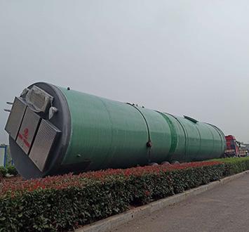一体化玻璃钢提升泵站