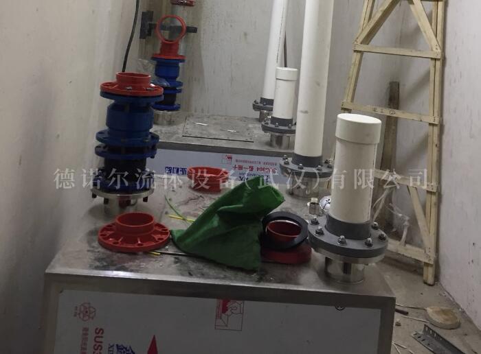 双泵内置式污水提升器