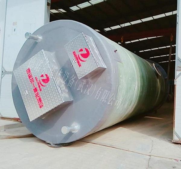 玻璃钢一体化节能泵站