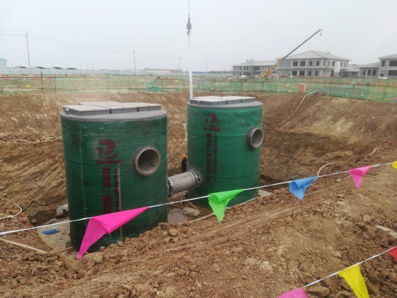 双筒体一体化泵站厂家