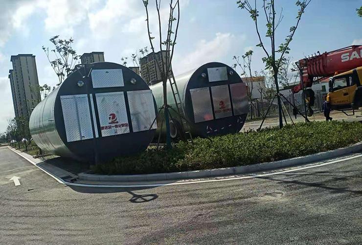 江苏南通一体化泵站
